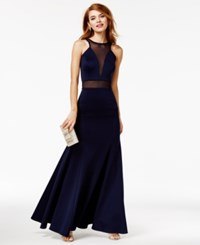 As U Wish Juniors' Halter Gown A Macy's Exclusive Style Night Cap