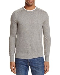Bloomingdale's The Men's Store At Cotton Linen Space Dyed Sweater Olive