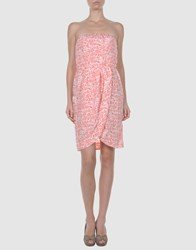 Phard Dresses Short Dresses Women Coral