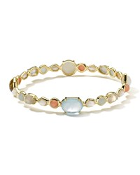 Ippolita 18K Gold Modern Rock Candy Gelato Multi Stone Oval Bangle In Silkroad Dream Women's