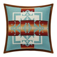 Pendleton Chief Joseph Cushion Aqua