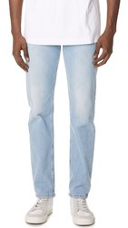 Tom Wood Straight Denim Jeans Light Stone Wash