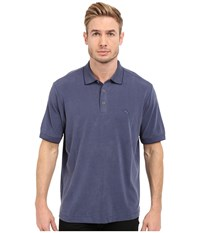 Tommy Bahama New Pebble Shore Polo Maritime Men's Short Sleeve Knit Blue