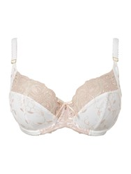 Charnos Fleur Full Cup Bra With Side Support Ivory