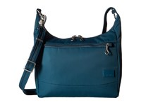 Pacsafe Citysafe Cs100 Anti Theft Travel Handbag Teal Handbags Blue