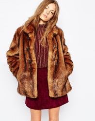 Urbancode Faux Grizzly Fur Jacket