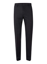 Topman Blue Navy Warm Handle Skinny Fit Suit Trousers