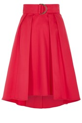 Coast Gabbi Belted Skirt Raspberry