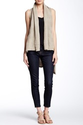 Fate Twisted Back Sweater Vest Beige