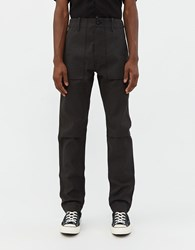Rogue Territory Weekender Safari Pant In Black Denim