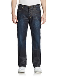Prps Dark Wash Straight Leg Jeans Blue