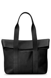 Shinola Cass Dearborn Leather Tote Black
