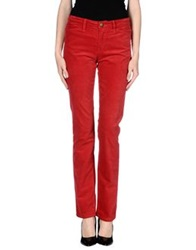 Current Elliott Casual Pants Red