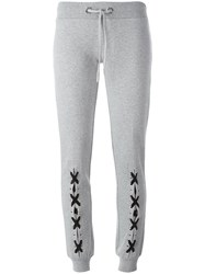 Philipp Plein 'Fauno' Track Pants Grey