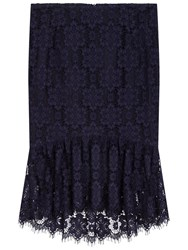 Gerard Darel Jemma Skirt Navy Blue
