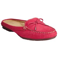 John Lewis Giana Mule Loafers Red