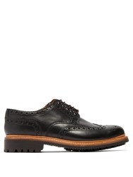 Grenson Archie Leather Brogues Black