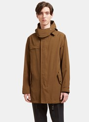 Lanvin Hooded Parka Jacket Khaki