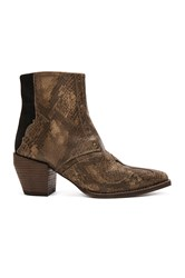 Free People Nevada Thunder Ankle Bootie Brown