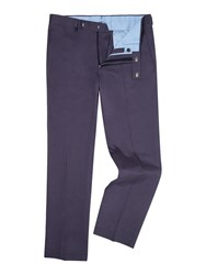 Chester Barrie Men's Classic Chino Blue