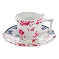 Seletti Hybrid Leonia Coffee Cup And Saucer