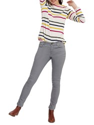 Joules Monroe Skinny Stretch Jeans Washed Grey