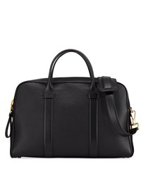 Tom Ford Leather Document Briefcase Black