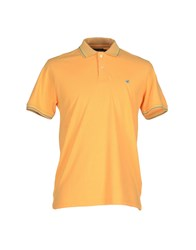 Brooksfield Topwear Polo Shirts Men Ocher