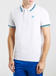 Topman Kappa White Polo Shirt