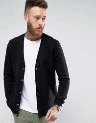 Asos Lambswool Rich Cardigan Black