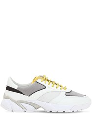 Axel Arigato Tech Runner Leather Sneakers White