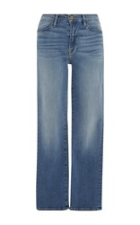 Frame Denim Le High Straight Leg Jean Light Wash