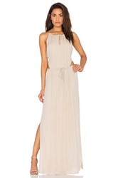 Rory Beca Maid By Yifat Oren X Revolve Lauren Gown Beige