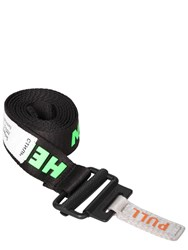 Heron Preston 30Mm Logo Tech Webbing Belt Black