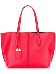 Tod's Large Tote Bag Red