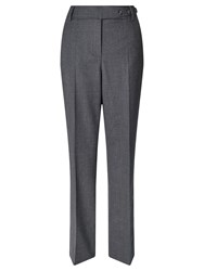 Gardeur Peri Flannel Straight Trouser Light Grey