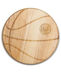 Picnic Time Golden State Warriors Ball Shaped Cutting Board Burlywood
