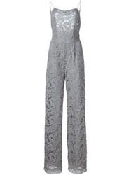 Adam By Adam Lippes Adam Lippes Sleeveless Jumpsuit Grey