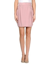 Miss Sixty Mini Skirts Pastel Pink