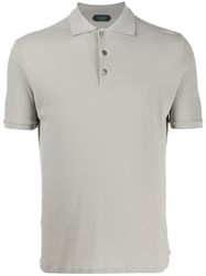 Zanone Fitted Polo Shirt 60