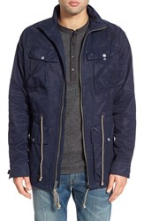 Men's Lucky Brand 'Capital' Coated Jacket Savile Row Blue