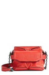 Rag And Bone Micro Pilot Leather Satchel Red Royal Red