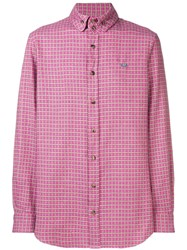 Vivienne Westwood Check Long Sleeved Shirt Pink