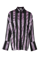 Topshop Duvall Shirt By Unique Lilac