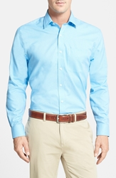 Cutter And Buck 'Epic Easy Care' Regular Fit Wrinkle Free Sport Shirt Big And Tall Atlas Blue