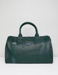 Peter Werth Etched Holdall In Green Green