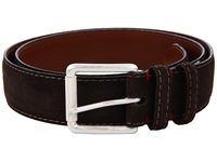 Torino Leather Co. Ital Calf Suede Brown Men's Belts
