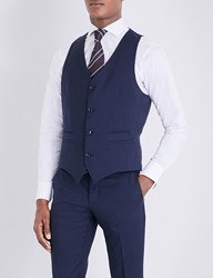 Tiger Of Sweden Jeds Wool Waistcoat Light Ink