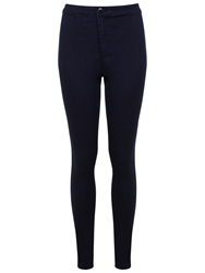 Miss Selfridge Steffi Super High Waist Super Skinny Jeans Indigo