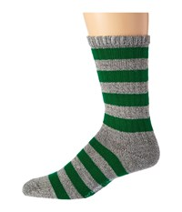 Wigwam Scrum Grey Green Men's Crew Cut Socks Shoes White